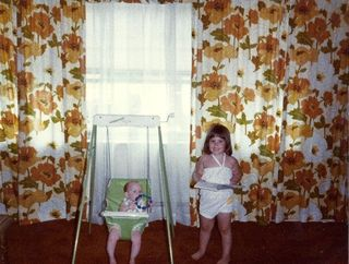Me and frankie as a baby 2