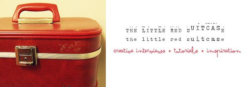 The little red suitcase banner