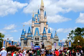 Magic Kingdom castle 1