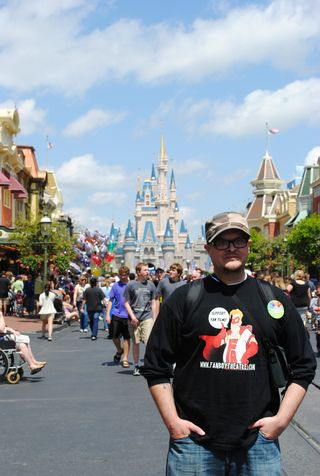Will in front of castle
